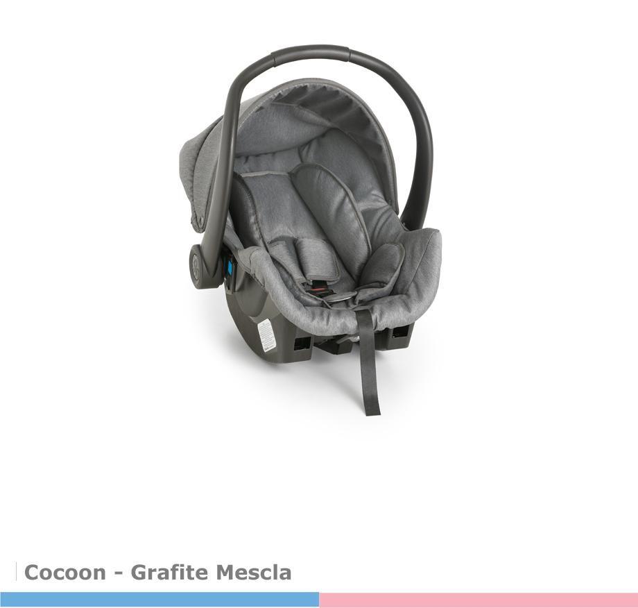 Bebê Conforto Cocoon Grafite/Mescla  Galzerano
