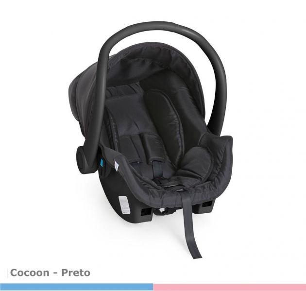 Bebê Conforto Cocoon Preto Galzerano