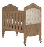 Berço de Bebê Provence 3 em 1 Amêndoa com Captonê - Planet Baby