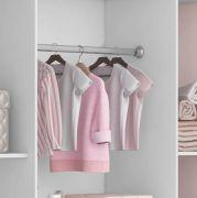Guarda Roupa para Quarto Infantil Sonhare Rose Quartz 4 portas - Fiorello